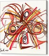 2010 Abstract Drawing 23 Canvas Print