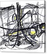 2010 Abstract Drawing 27 Canvas Print