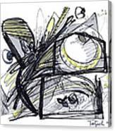 2010 Abstract Drawing 28 Canvas Print