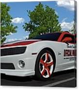 2010 Camaro Indy Pace Car Canvas Print