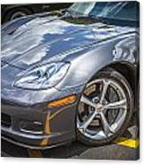 2010 Chevy Corvette Grand Sport Hdr Canvas Print