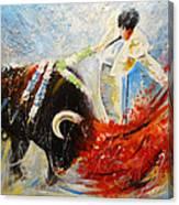 2010 Toro Acrylics 02 Canvas Print