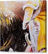 2010 Toro Acrylics 03 Canvas Print
