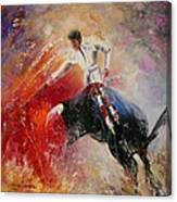 2010 Toro Acrylics 05 Canvas Print