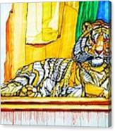 2010 Year Of The Tiger Canvas Print