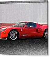 2011 Ford Gt Iv Canvas Print