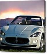 2011 Maserati Gran Turismo Convertible I Canvas Print