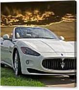 2011 Maserati Gran Turismo Convertible II Canvas Print