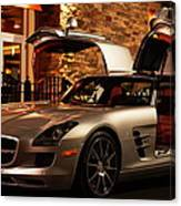 2011 Mercedes-benz Sls Amg Gullwing Canvas Print