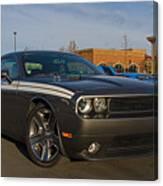 2012 Dodge Challenger R/t Classic Canvas Print