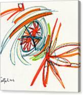 2012 Drawing #24 Canvas Print