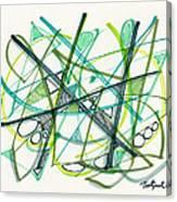 2012 Drawing #34 Canvas Print