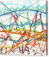 2013 Abstract Drawing #7 Canvas Print