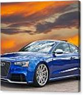 2013 Audi Rs5 Sports Coupe Canvas Print