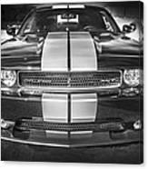 2013 Dodge Challenger Srt Bw Canvas Print