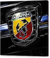 2013 Fiat 500 Abarth Canvas Print