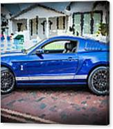 2013 Ford Mustang Shelby Gt 500  Canvas Print