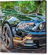 2013 Ford Shelby Mustang Gt 5.0 Convertible Painted   Canvas Print