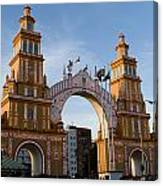 2013 Gateway To Feria De La Seville Canvas Print