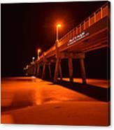 2014 02 06 01 A Okaloosa Island Pier 0195 Canvas Print