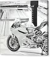 2014 1199 Ducati Panigale Canvas Print