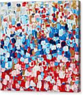 2014 31 Russian Flag Canvas Print