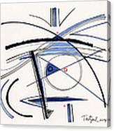 2014 Abstract Drawing #1 Canvas Print