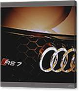 2014 Audi Rs7 Logo Canvas Print