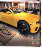 2014 Camaro Convertible Canvas Print