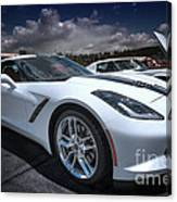 2014 Chevrolet Stingray Canvas Print
