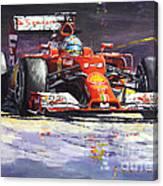 2014 Ferrari F14t Fernando Alonso  Canvas Print