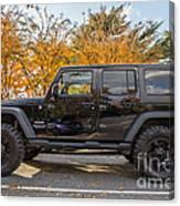 2014 Jeep Wrangler Sport Canvas Print