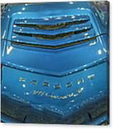 2014 Porsche 911 Carrera S Blue Canvas Print