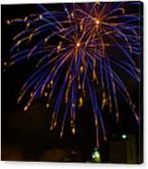 2014 Three Rivers Festival Fireworks Fairmont Wv 1 Canvas Print