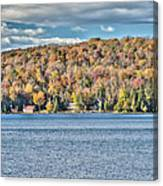 201410020-036d1 Autumn Forest North Shore Hdr1 2x3 Canvas Print