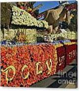2015 Cal Poly Rose Parade Float 15rp052 Canvas Print