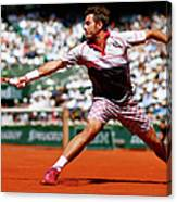 2015 French Open - Day Fifteen Canvas Print