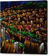 204 Rainbow Lane - The American Dream Canvas Print