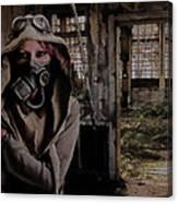 2050 Post Apocalyptic Scene Canvas Print
