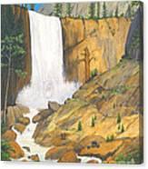 21 Bears Of Yosemite National Park Canvas Print