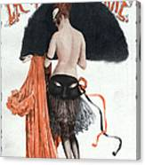 La Vie Parisienne  1920 1920s France Canvas Print