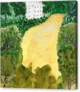 21 Room House On Golden Lake Dream Canvas Print