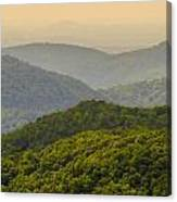 Scenery Around Lake Jocasse Gorge Canvas Print