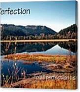 21042 Perfection 2 Canvas Print