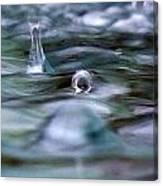 Australia - Cyclonic Raindrop Canvas Print