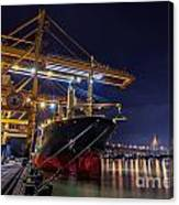 Container Cargo Freight Ship Canvas Print