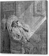 Dor� The Raven, 1882 Canvas Print