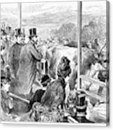 Edward Vii (1841-1910) Canvas Print