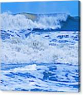 Hurricane Storm Waves Canvas Print