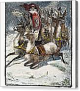 Night Before Christmas Canvas Print